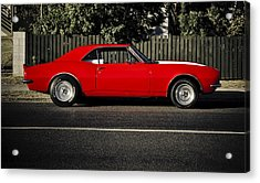 Big Block Camaro Acrylic Print by motography aka Phil Clark