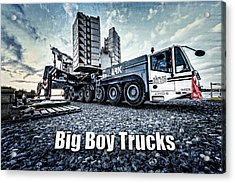 Big Boy Trucks Acrylic Print by Everet Regal