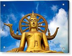 Big Buddha Acrylic Print by Adrian Evans