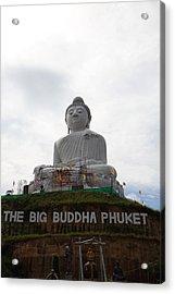 Big Buddha Phuket - Phuket Thailand - 01131 Acrylic Print