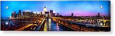 Big City Blues Acrylic Print by Az Jackson