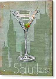 Big City Cocktails Martini Acrylic Print