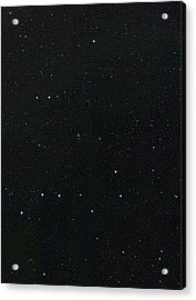 Big Dipper And Ursa Minor Constellation Acrylic Print by Eckhard Slawik