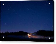 Big Dipper In The Valley Acrylic Print by Larry Bodinson