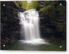 Big Falls In The Rain Acrylic Print