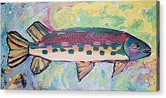 Big Fish Acrylic Print by Krista Ouellette
