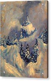 Big Horn Peak Acrylic Print by Patricia Brintle