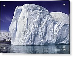 Big Iceberg Acrylic Print by Boon Mee