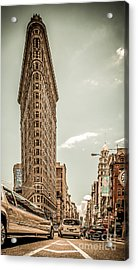 Big In The Big Apple Acrylic Print by Hannes Cmarits