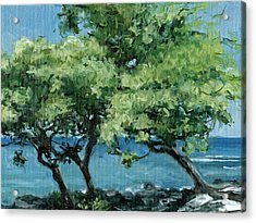 Big Island Trees Acrylic Print by Stacy Vosberg