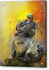 Big Jerry In Memphis Acrylic Print by Miki De Goodaboom