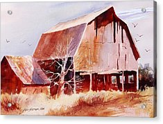 Big Jim's Barn Acrylic Print
