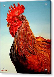 Acrylic Print featuring the painting Big John by Phyllis Beiser