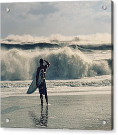 Big Kahuna Acrylic Print by Laura Fasulo