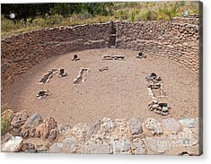 Big Kiva Bandelier National Monument Acrylic Print