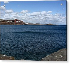 Big Lake Big Sky Acrylic Print
