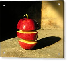 Big Mac-apple Diet Acrylic Print