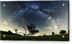 Big Meadows Milkyway  Acrylic Print by Andrew Fritz