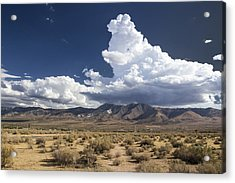 Big Mountains Bigger Clouds Acrylic Print