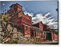 Big Red Mine Acrylic Print
