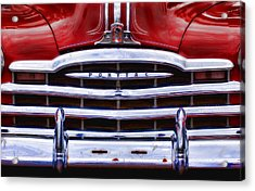 Big Red Pontiac Acrylic Print