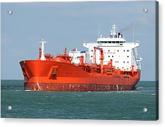 Big Red Tanker Acrylic Print
