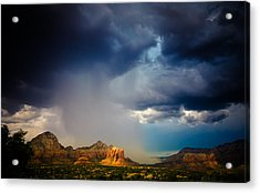 Big River Acrylic Print by Roger Chenery