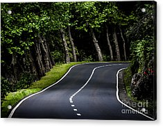 Big  Road Acrylic Print