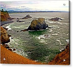 Big Rock Beach Acrylic Print by Marty Koch