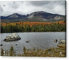 Acrylic Print featuring the photograph Big Rock by Gene Cyr