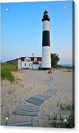 Big Sable Point Great Lakes Lighthouse Acrylic Print