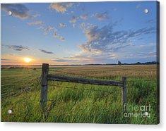 Big Sky Alberta Acrylic Print by Dan Jurak