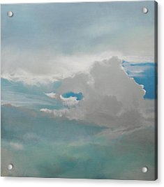 Acrylic Print featuring the painting Big Sky by Cap Pannell