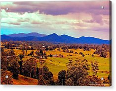 Acrylic Print featuring the photograph Big Sky Country by Wallaroo Images