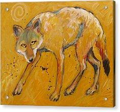 Big Sky Coyote Acrylic Print
