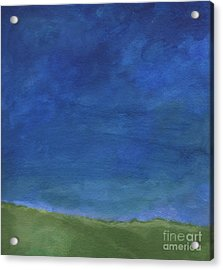 Big Sky Acrylic Print by Linda Woods