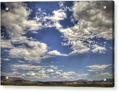 Big Sky Nevada Acrylic Print
