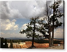 Big Sky Over Bryce Canyon Acrylic Print by Joseph G Holland