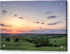 Acrylic Print featuring the photograph Big Sky by Scott Bean