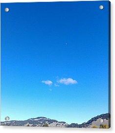 Big Sky Valley Acrylic Print