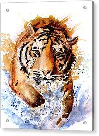 Big Splash Acrylic Print