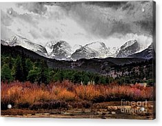 Big Storm Acrylic Print by Jon Burch Photography