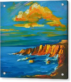Big Sur At The West Coast Of California Acrylic Print