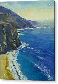 Big Sur California Acrylic Print by Michael Creese