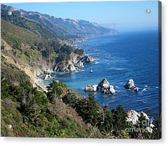 Acrylic Print featuring the photograph Big Sur Coast Ca by Debra Thompson