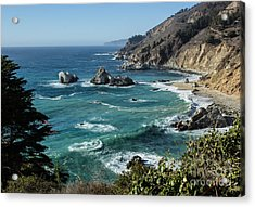 Big Sur Coast From Julia Pfeiffer Burns Acrylic Print