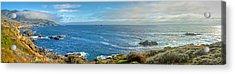 Big Sur Coast Pano 2 Acrylic Print