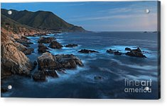 Big Sur Coastline Acrylic Print by Mike Reid