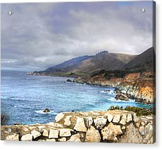 Acrylic Print featuring the photograph Big Sur by Kandy Hurley