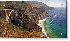 Acrylic Print featuring the photograph Big Sur by Rod Jones